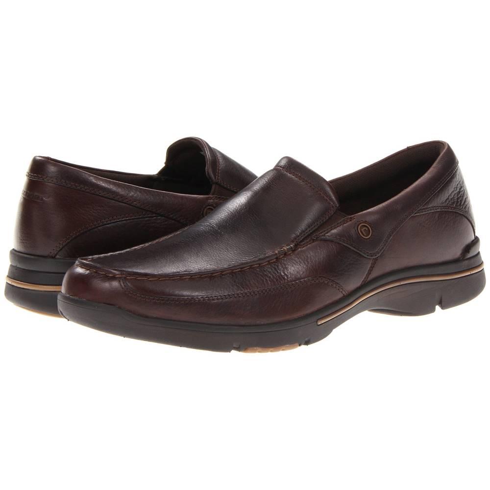 ロックポート メンズ シューズ・靴 革靴・ビジネスシューズ【Eberdon】Dark Brown Leather