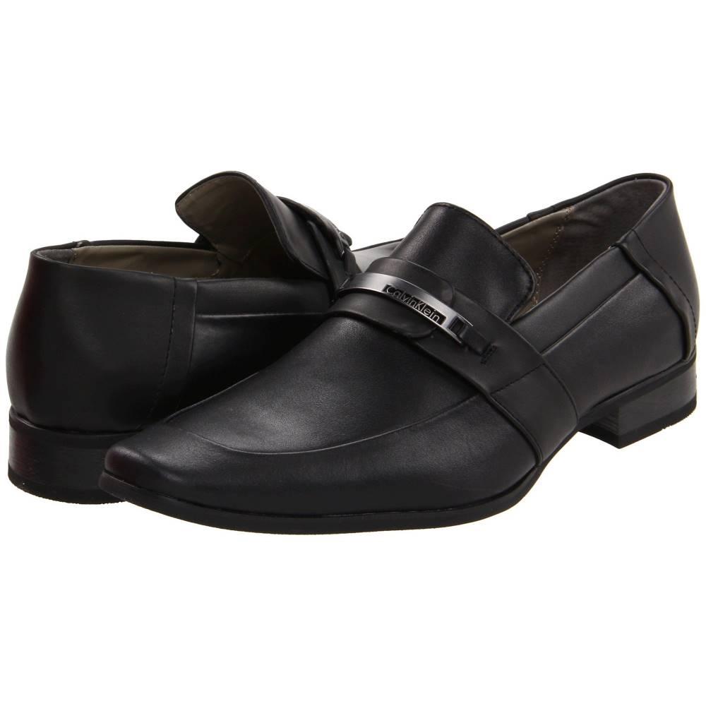 カルバンクライン メンズ シューズ・靴 革靴・ビジネスシューズ【Brice】Black