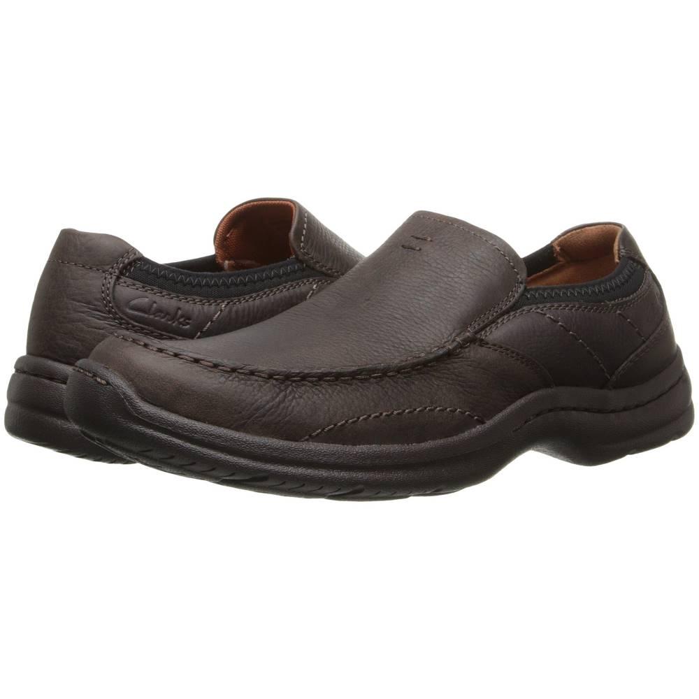 クラークス メンズ シューズ・靴 革靴・ビジネスシューズ【Niland Energy】Brown Tumbled Leather