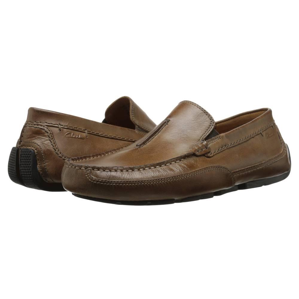 クラークス メンズ シューズ・靴 革靴・ビジネスシューズ【Ashmont Race】Tan Leather