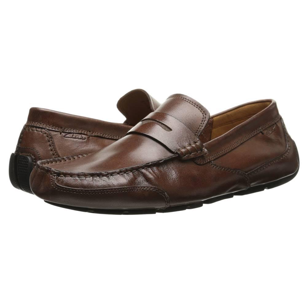 クラークス メンズ シューズ・靴 革靴・ビジネスシューズ【Ashmont Way】Cognac Smooth Leather