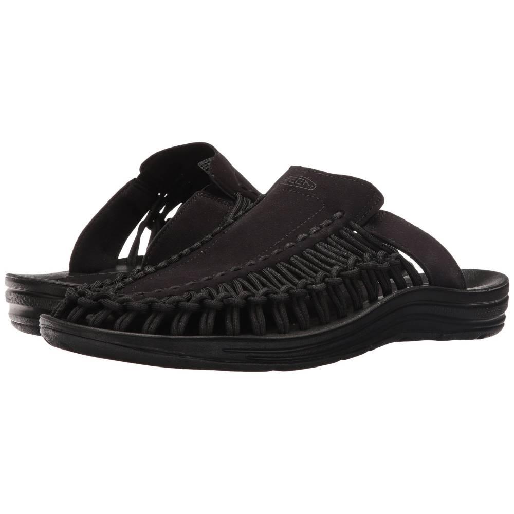 キーン メンズ シューズ・靴 サンダル【Uneek Slide】Black/Black