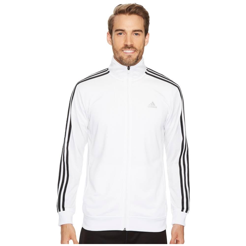 アディダス メンズ アウター ジャケット【Essential Tricot Track Jacket】White/Black