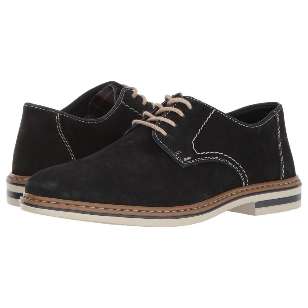 リエカー メンズ シューズ・靴 革靴・ビジネスシューズ【B1422 Diego 22】Pazifik/Navy/Samtcalf/Kidbi