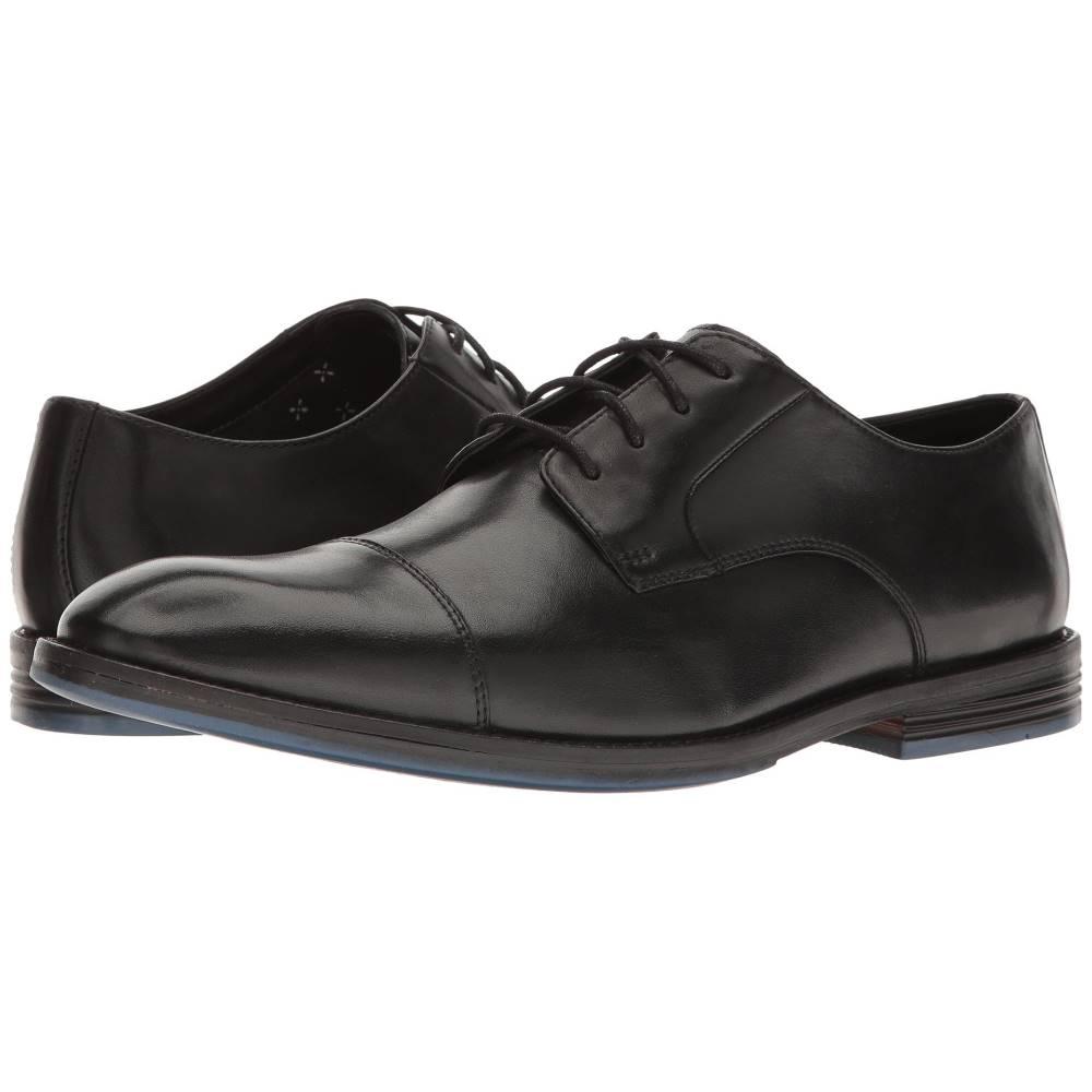 クラークス メンズ シューズ・靴 革靴・ビジネスシューズ【Prangley Cap】Black Leather