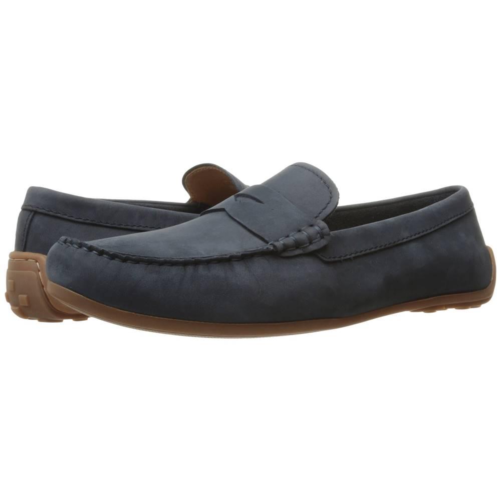 クラークス メンズ シューズ・靴 革靴・ビジネスシューズ【Reazor Drive】Navy Nubuck