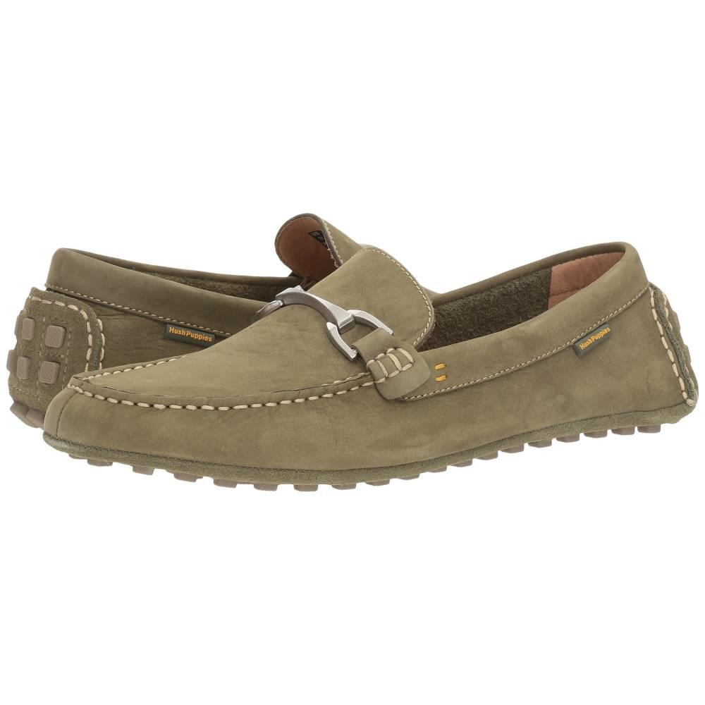 ハッシュパピー メンズ シューズ・靴 革靴・ビジネスシューズ【Longin Terveen】Olive Nubuck