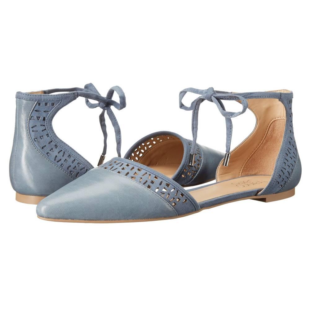 フランコサルト レディース シューズ・靴 スリッポン・フラット【Shirley】Country Blue Leather