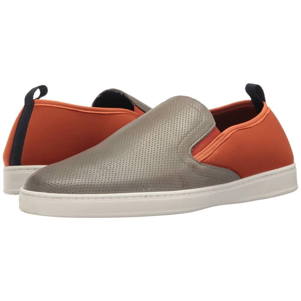 パーク シティ ブーツ メンズ シューズ・靴 革靴・ビジネスシューズ【Pier】Grey Punched Leather/Orange