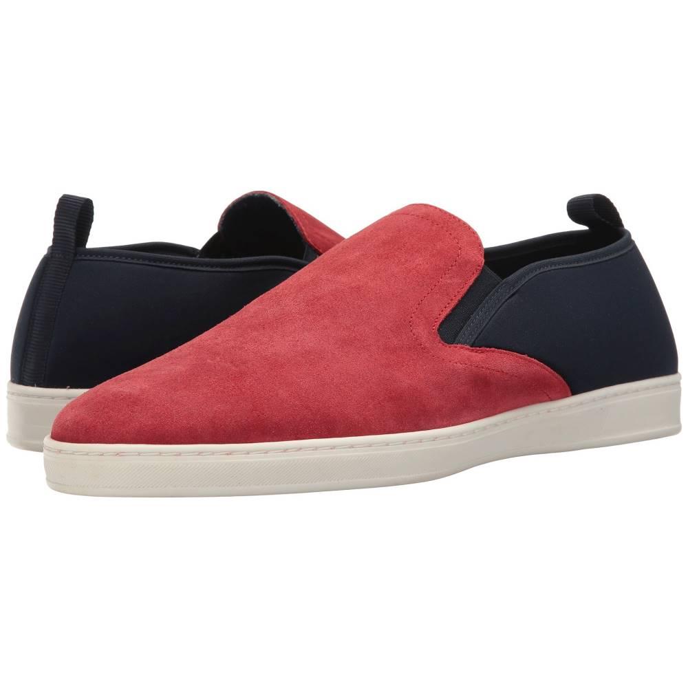 パーク シティ ブーツ メンズ シューズ・靴 革靴・ビジネスシューズ【Pier】Red Suede/Navy