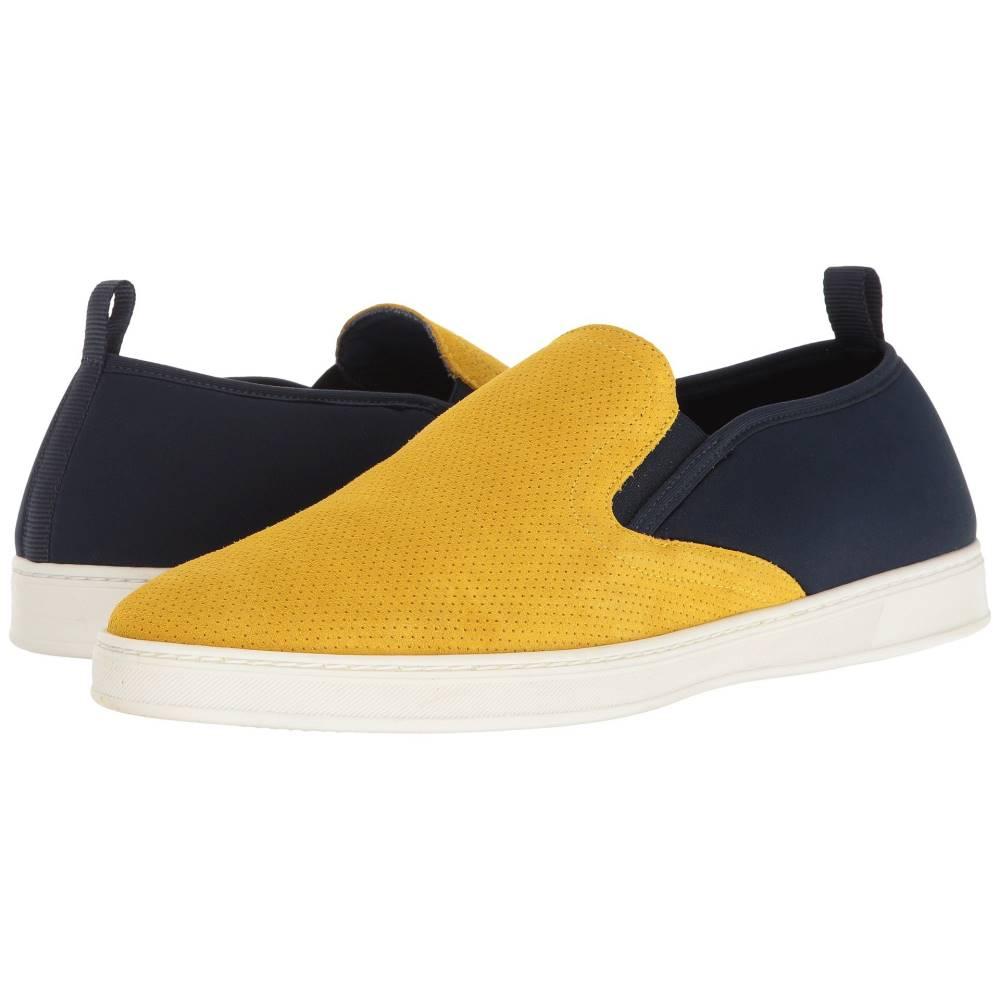 パーク シティ ブーツ メンズ シューズ・靴 革靴・ビジネスシューズ【Pier】Yellow Punched Suede/Navy