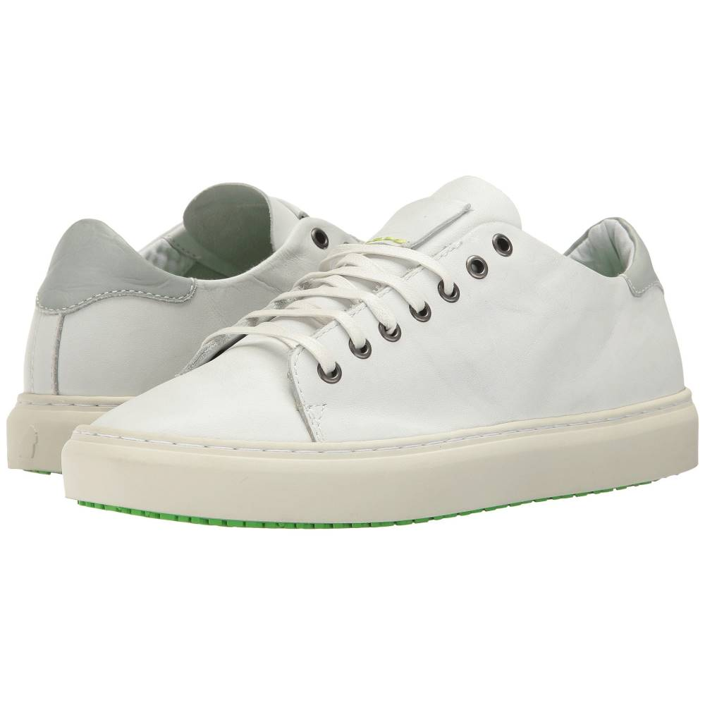 サトリサン メンズ シューズ・靴 スニーカー【Newtown-Napa Leather】White