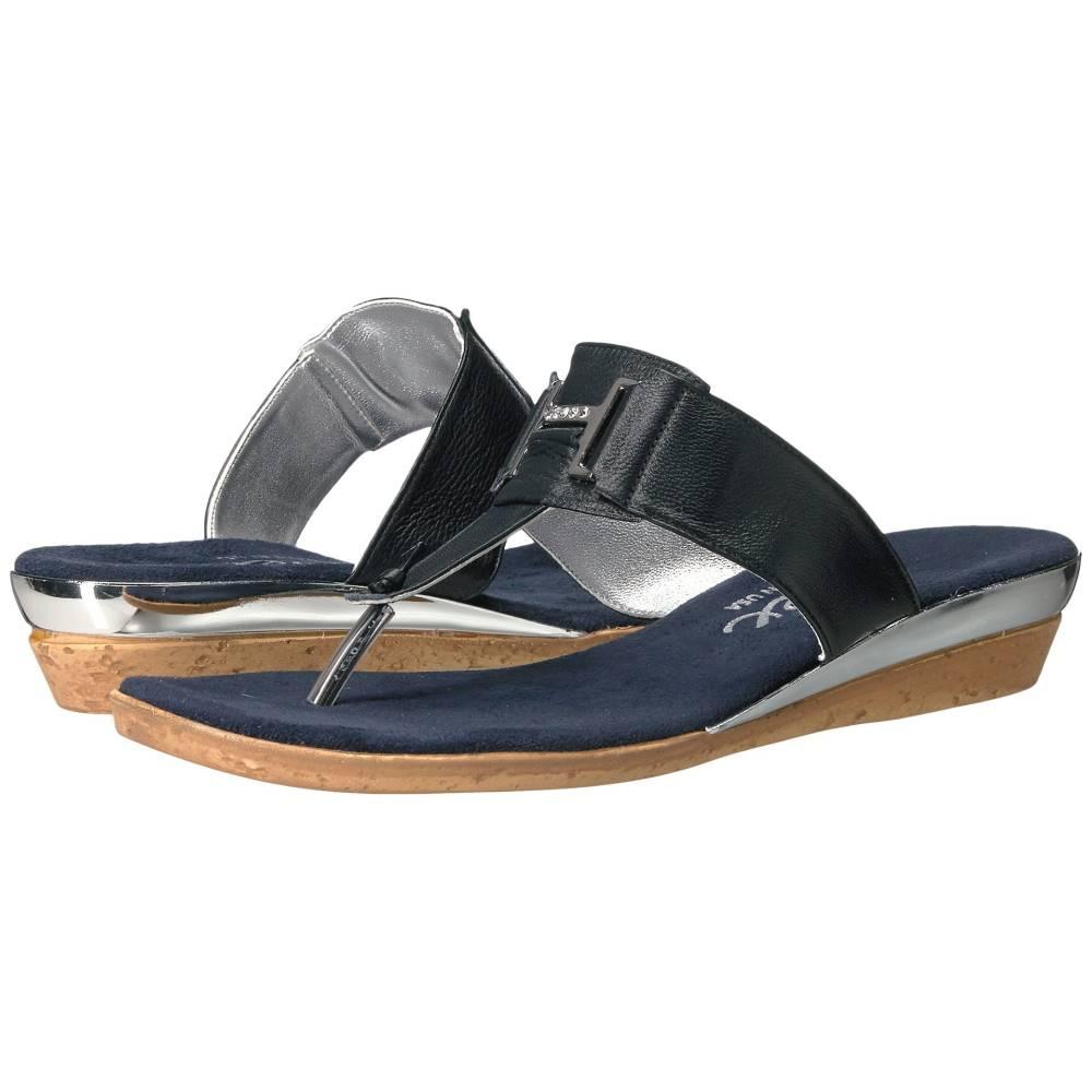 オネックス レディース シューズ・靴 サンダル・ミュール【Harriet】Navy Leather