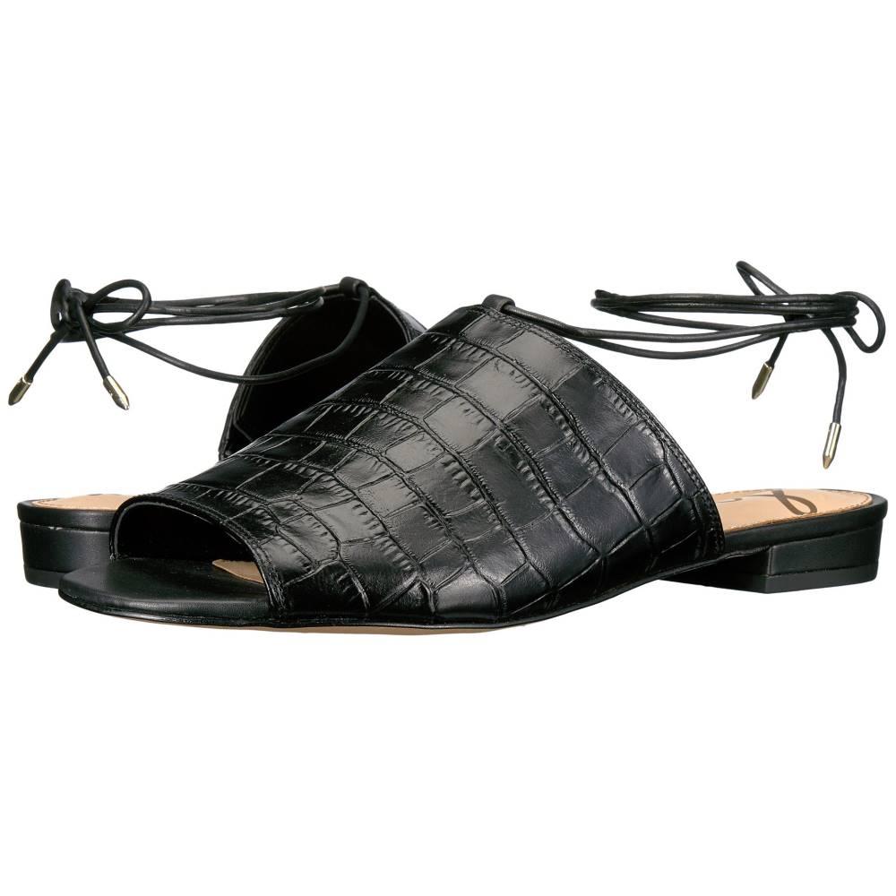 サム エデルマン レディース シューズ・靴 サンダル・ミュール【Tai】Black Suraze Shiny Croco Leather