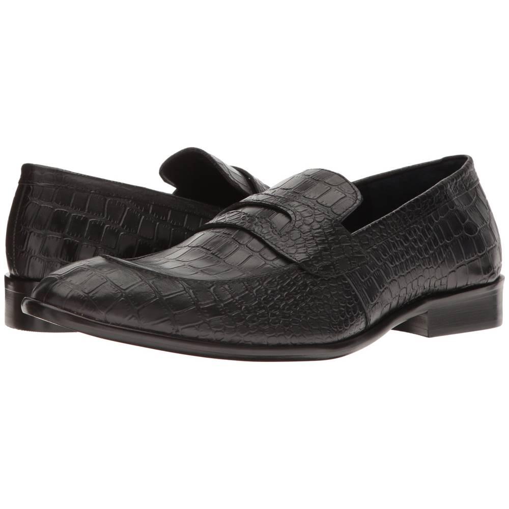 メッシコ メンズ シューズ・靴 革靴・ビジネスシューズ【Pastor】Black Patent Croco Leather