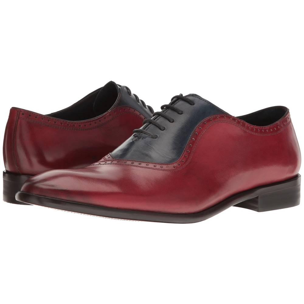 メッシコ メンズ シューズ・靴 革靴・ビジネスシューズ【Osvaldo】Red/Blue Leather