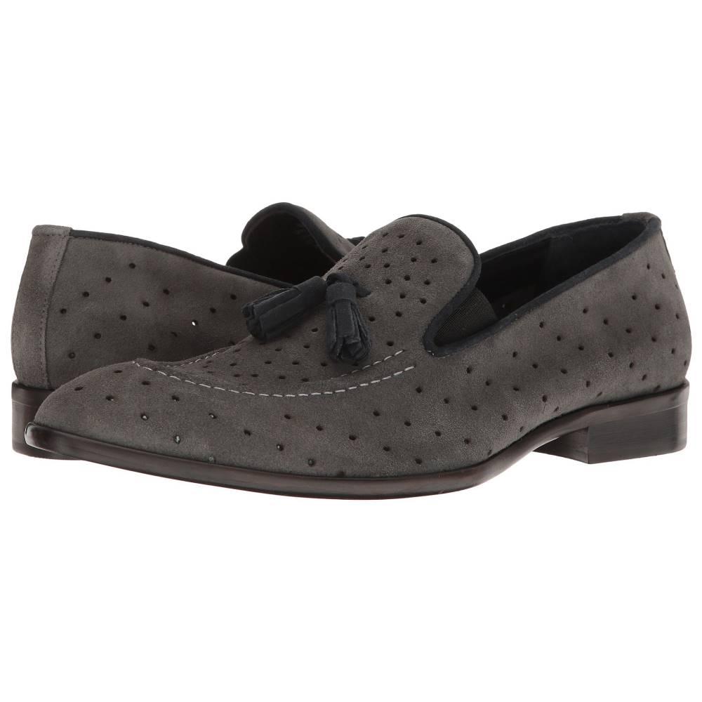 メッシコ メンズ シューズ・靴 革靴・ビジネスシューズ【Nuncio】Grey Suede