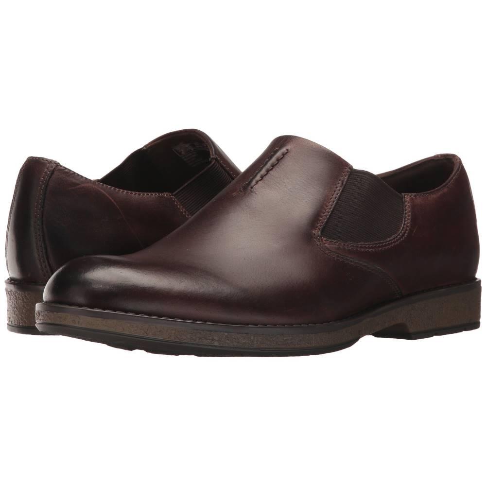クラークス メンズ シューズ・靴 革靴・ビジネスシューズ【Hinman Step】Mahogany Leather