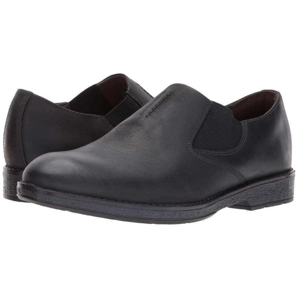 クラークス メンズ シューズ・靴 革靴・ビジネスシューズ【Hinman Step】Black Leather