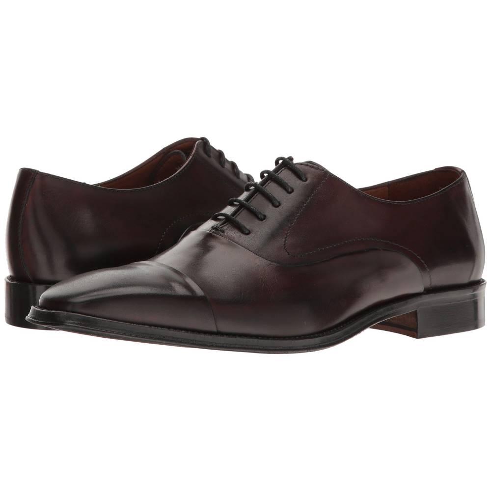 マッテオ マッシモ メンズ シューズ・靴 革靴・ビジネスシューズ【5-Eye Cal Bal】Burgundy