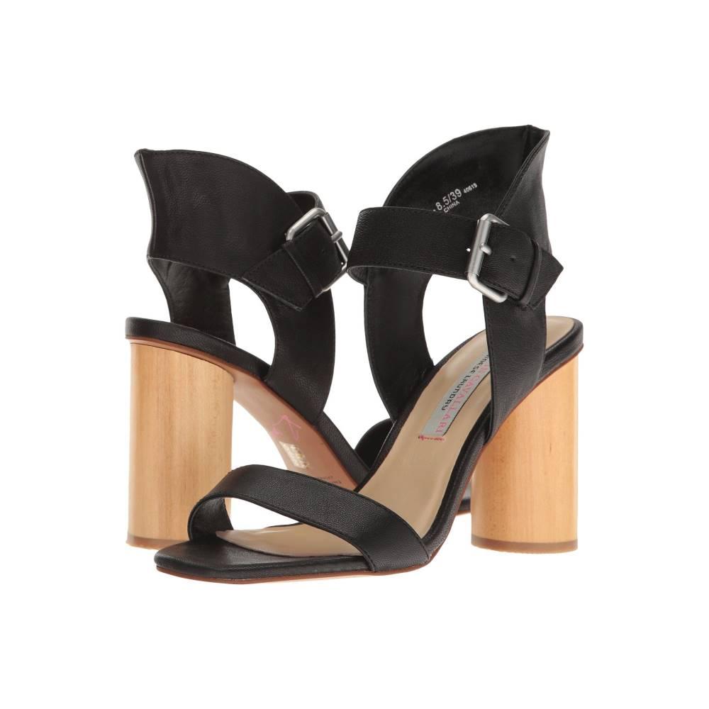 クリスティン カヴァラーリ レディース シューズ・靴 サンダル・ミュール【Locator Leather Heeled Sandal】Black