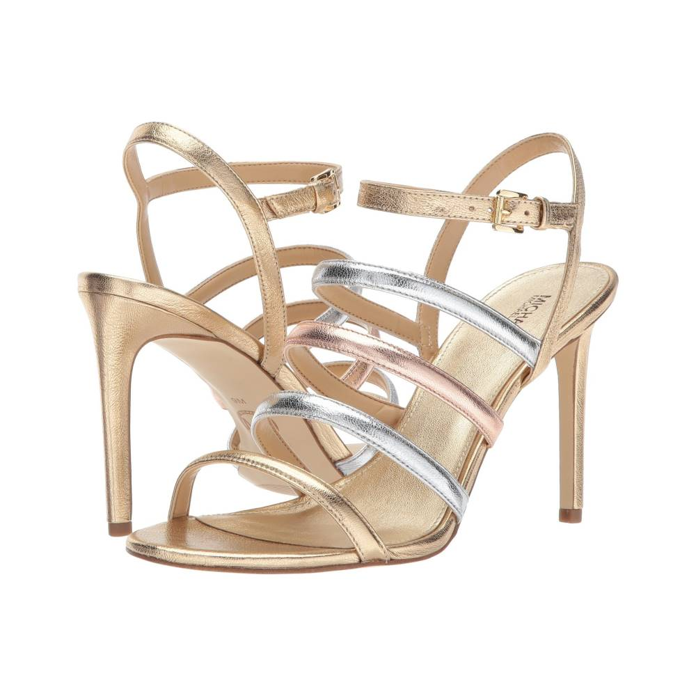 マイケル コース レディース シューズ・靴 サンダル・ミュール【Nantucket Sandal】Pale Gold/Silver/Gold