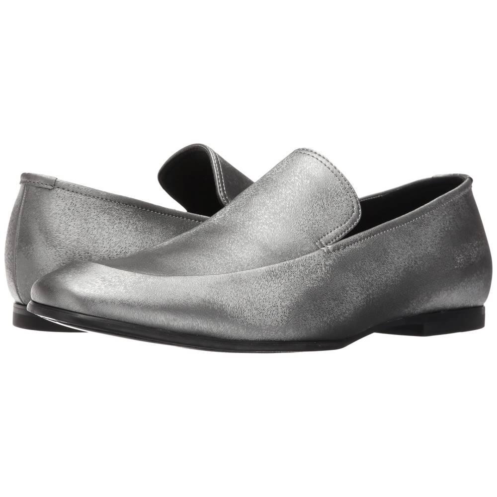 カルバンクライン メンズ シューズ・靴 革靴・ビジネスシューズ【Nicco】Gunmetal