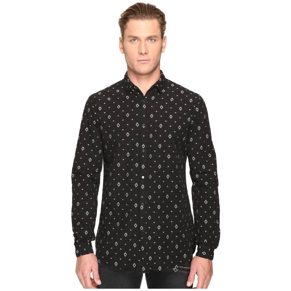 ジャストカヴァッリ メンズ トップス シャツ【Solid Shirt】Black
