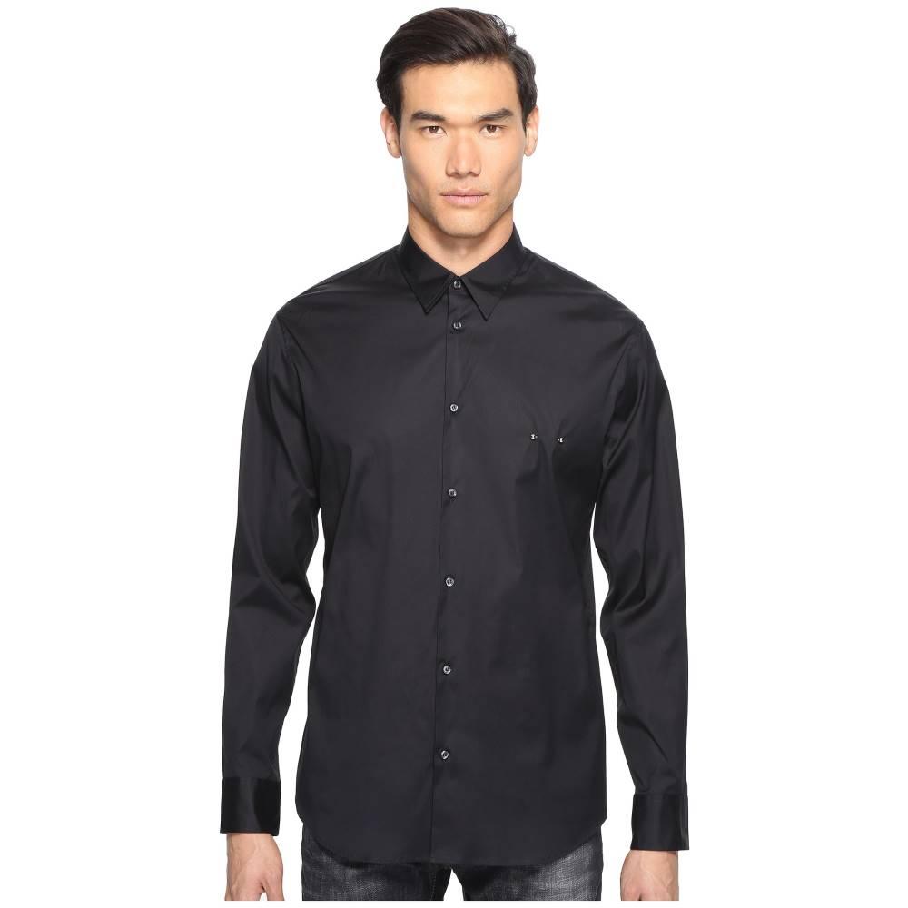 ディースクエアード メンズ トップス シャツ【Mod Evening Piercing Shirt】Black