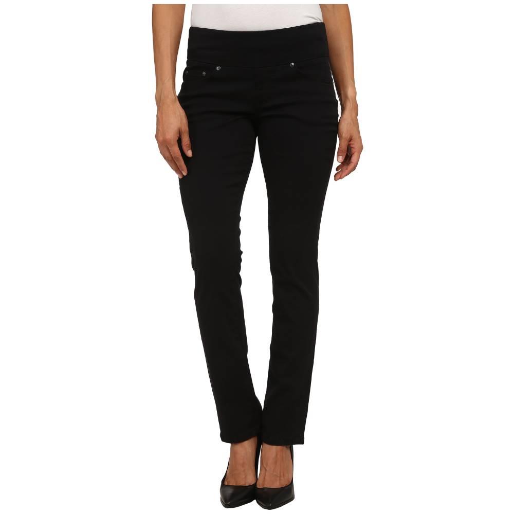 ジャグ ジーンズ レディース ボトムス・パンツ【Petite Peri Pull On Straight Twill Pants】Black