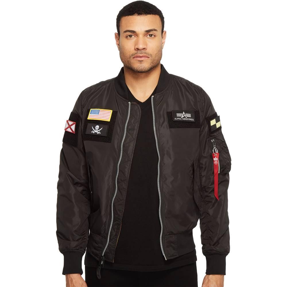 アルファインダストリーズ メンズ アウター ジャケット【L-2B Flex Jacket】Black