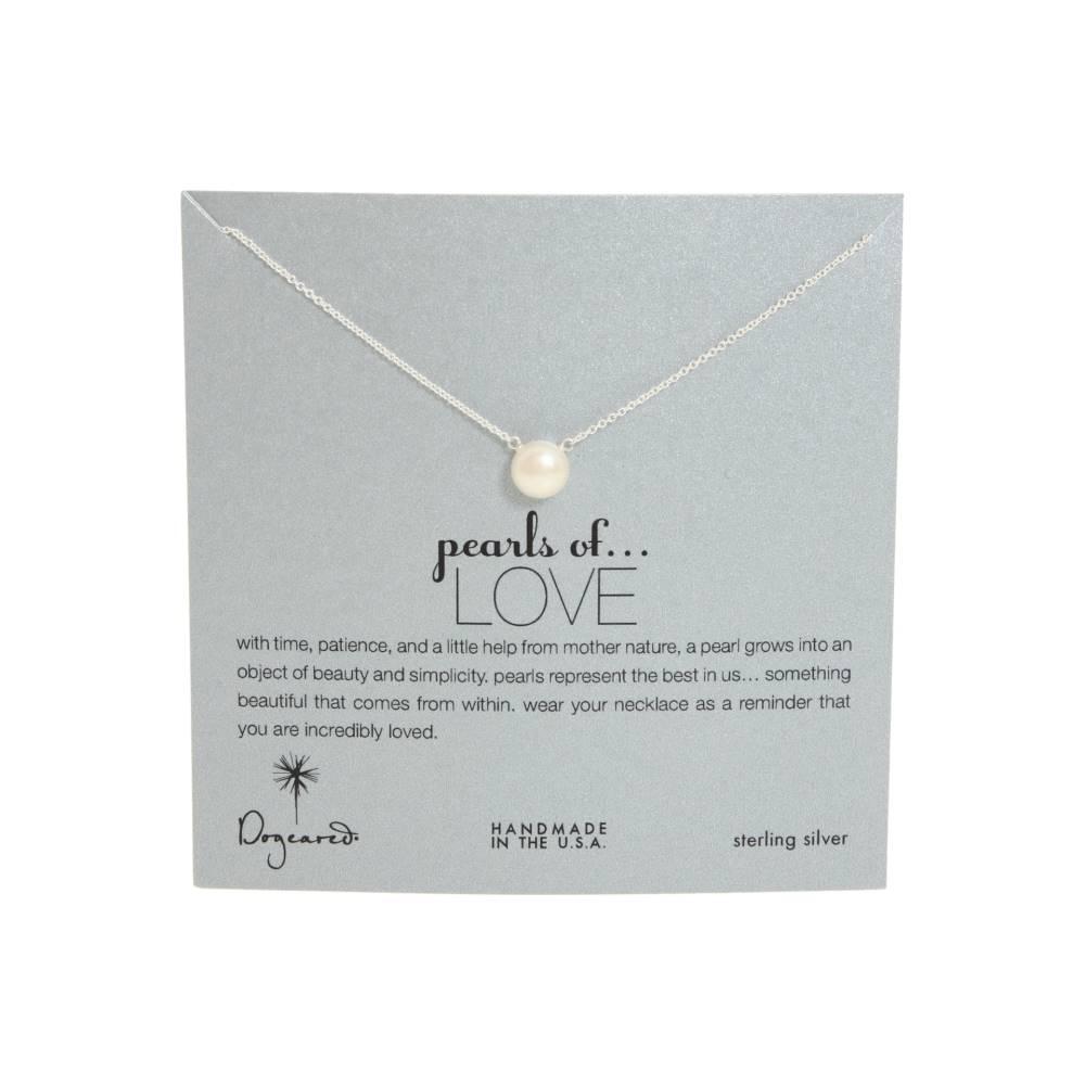 ドギャード レディース ジュエリー・アクセサリー ネックレス【Pearls of Love Necklace】Sterling Silver