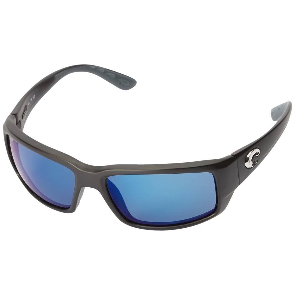 コスタ メンズ ファッション小物 スポーツサングラス【Fantail】Black Frame/Blue Mirror 580P