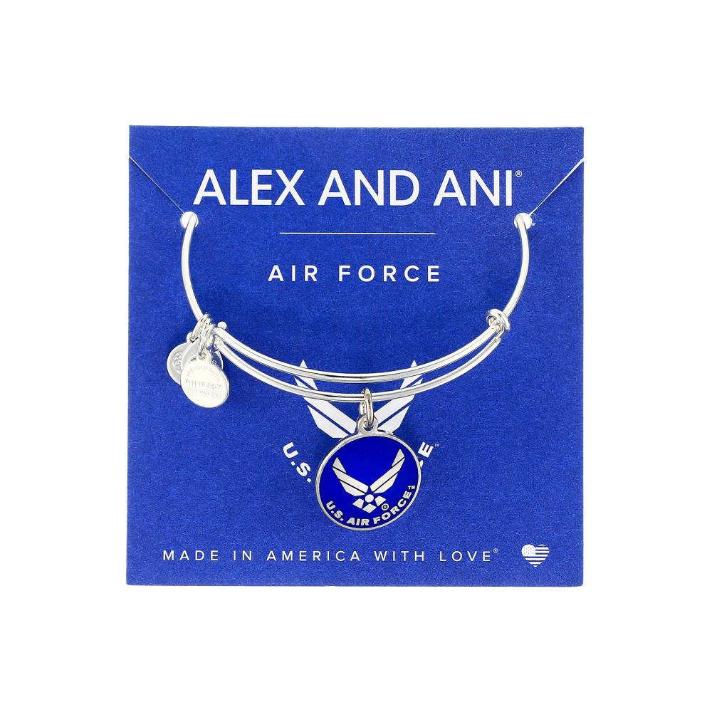 アレックス アンド アニ レディース ジュエリー・アクセサリー ブレスレット【US Air Force】Shiny Silver