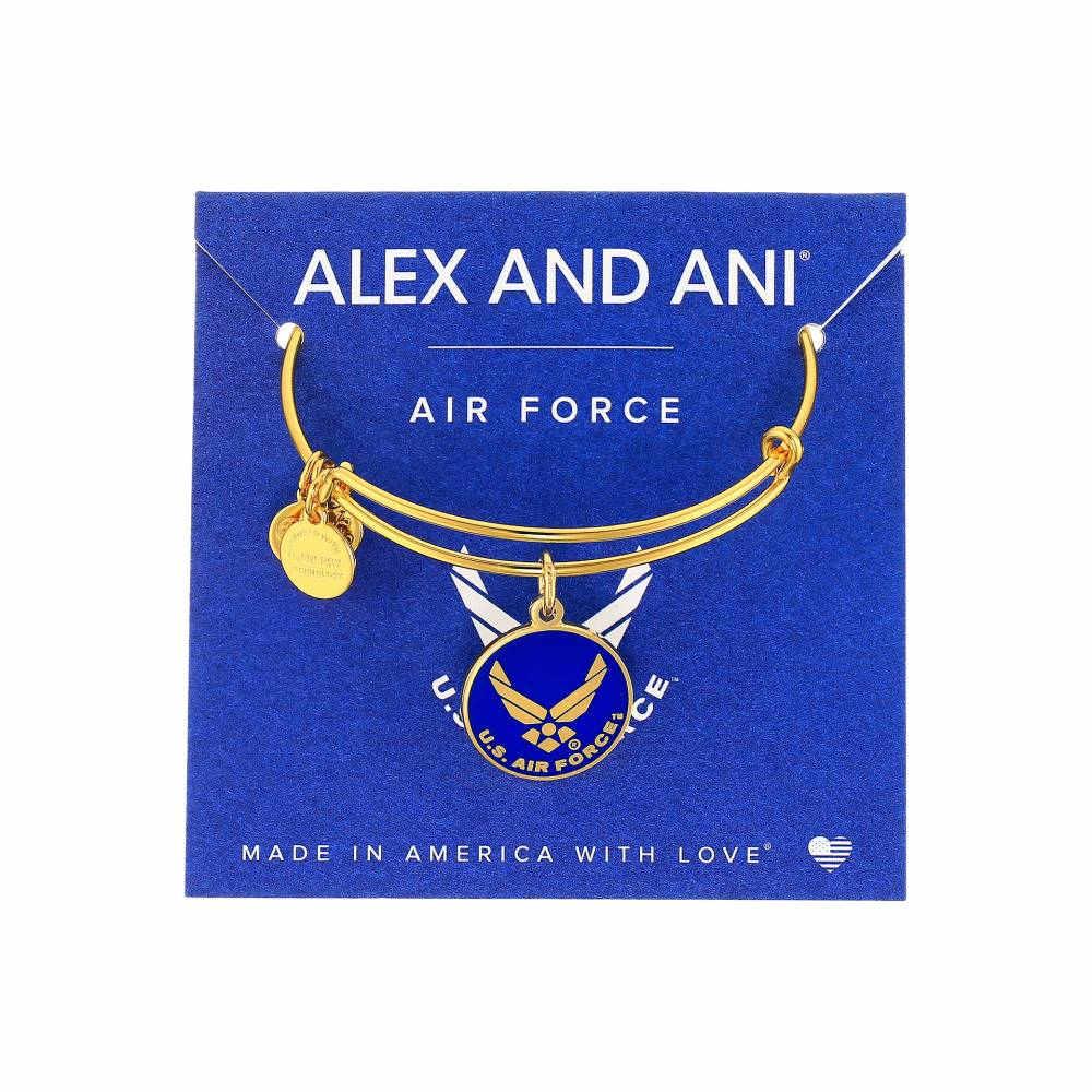 アレックス アンド アニ レディース ジュエリー・アクセサリー ブレスレット【US Air Force】Gold