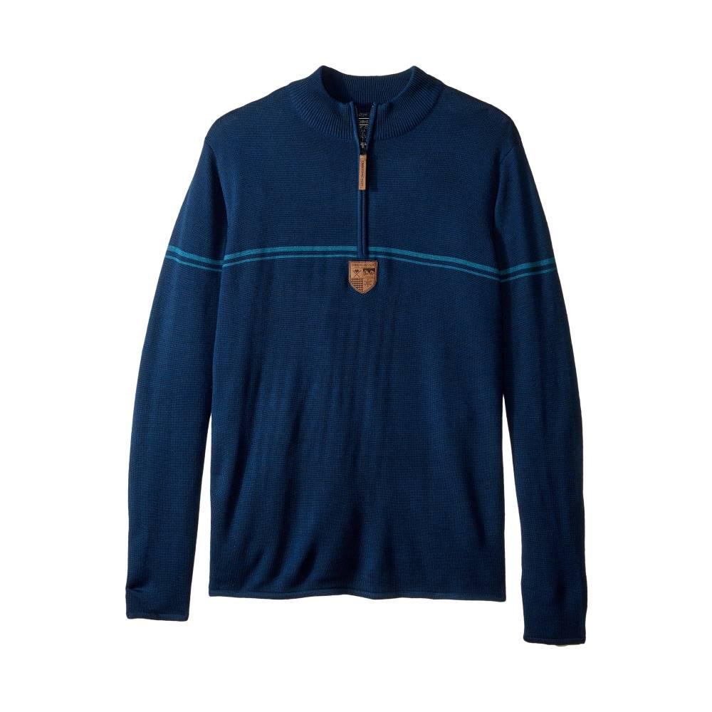 アッパー品質 オバマイヤー メンズ トップス ニット・セーター【Zurich 1/2 Zip Sweater】Storm Cloud