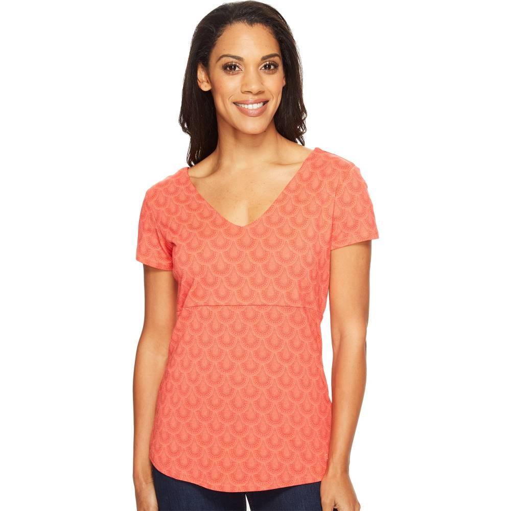 キュール レディース トップス Tシャツ【Adalina Short Sleeve Shirt】Guava