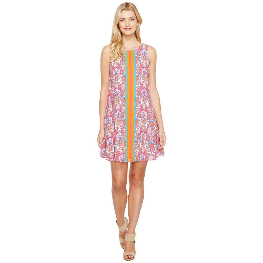 ハットレイ レディース ワンピース・ドレス ワンピース【Trapeze Dress】Ornate Paisley