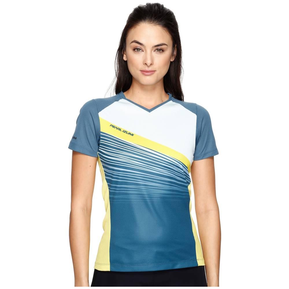 パールイズミ レディース トップス Tシャツ【Launch Jersey】Blue Steel/Skylight Fracture