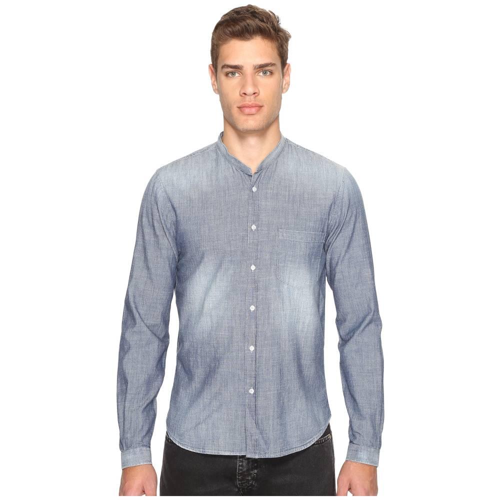 クーパース メンズ トップス【Light Denim Shirt】Blue