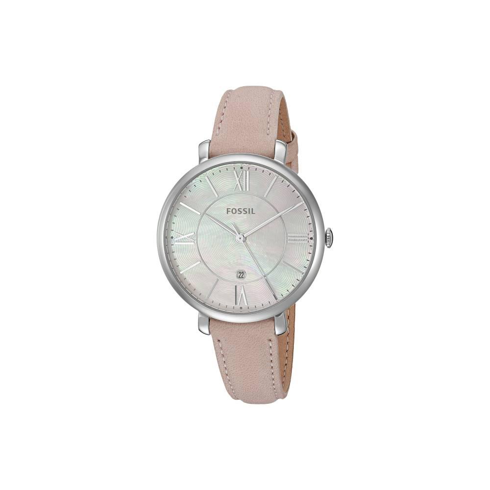 フォッシル レディース 財布・時計・雑貨 腕時計【Jacqueline Leather - ES4151】Pink Mother-of-Pearl