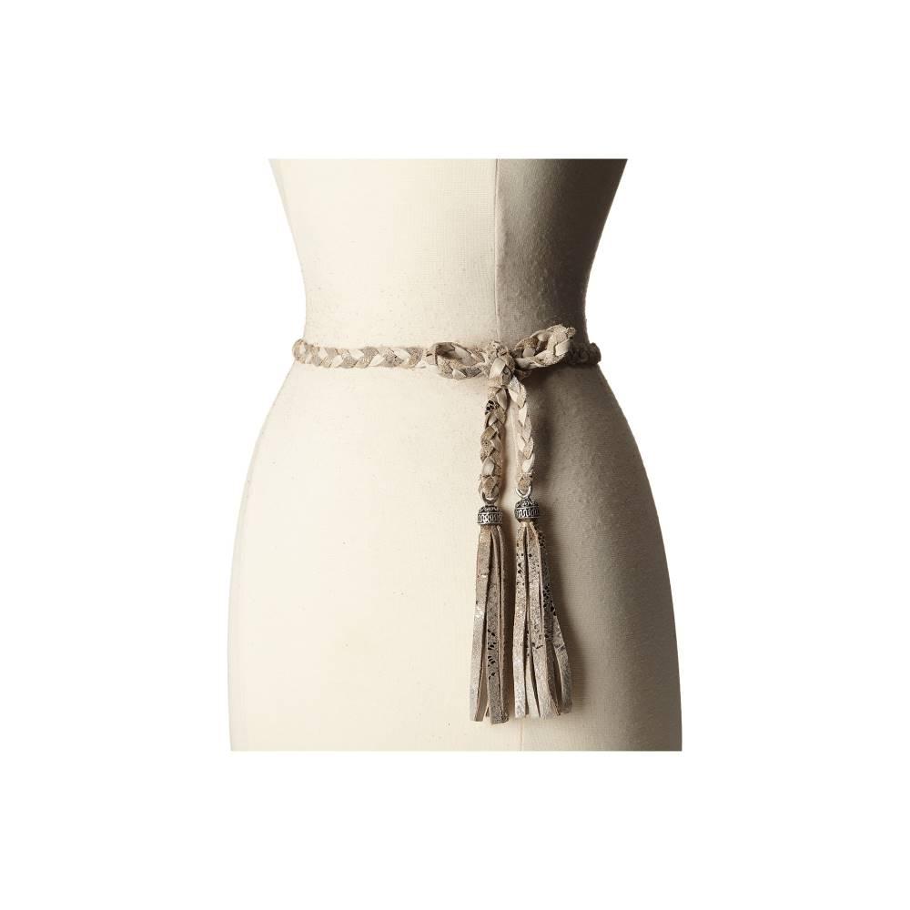 レザロック レディース ファッション小物 ベルト【1690】Nevada Cream/Vintage Platinum