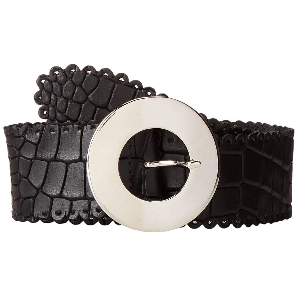 レザロック レディース ファッション小物 ベルト【1768】Black