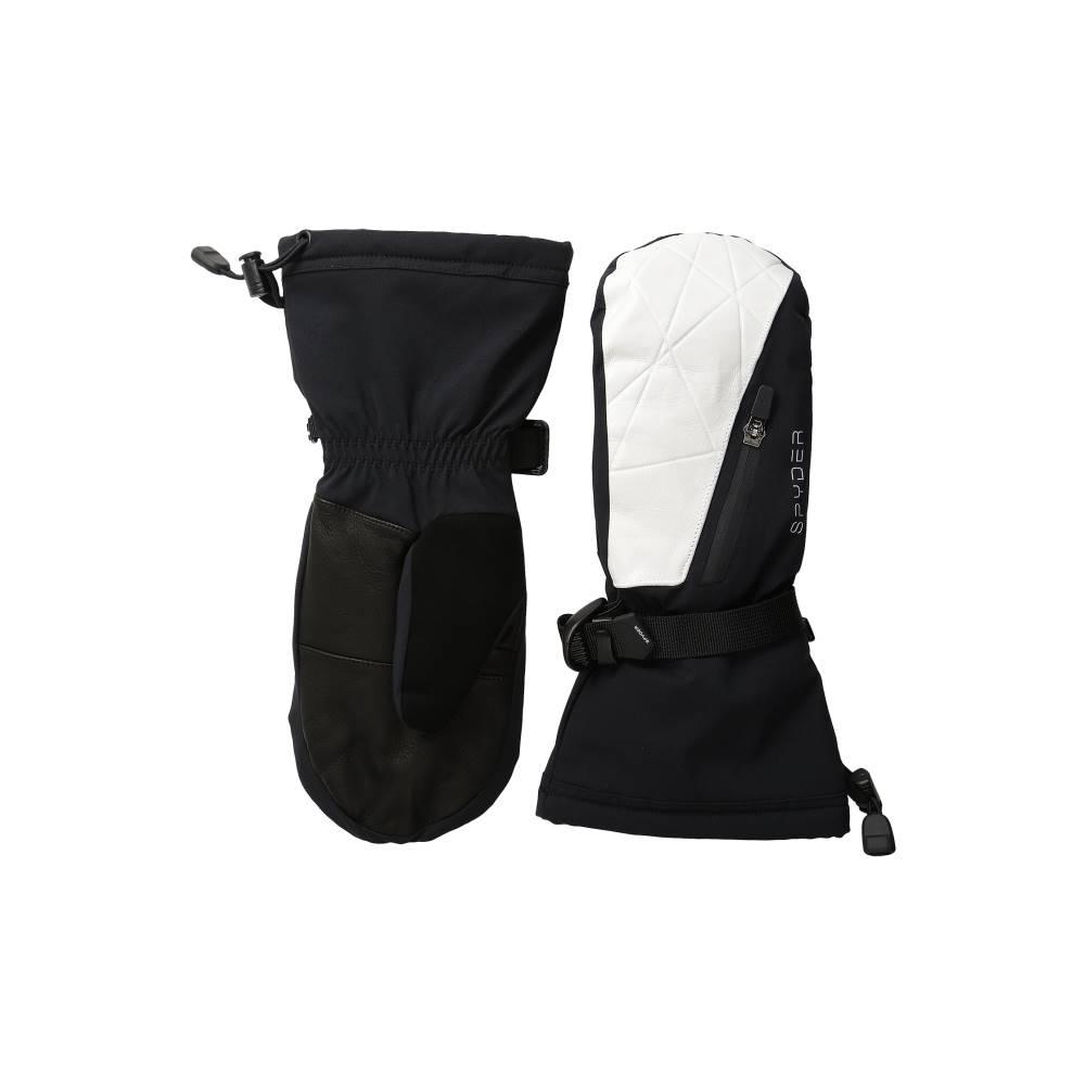スパイダー レディース スキー・スノーボード グローブ【Omega Ski Mittens】Black/White