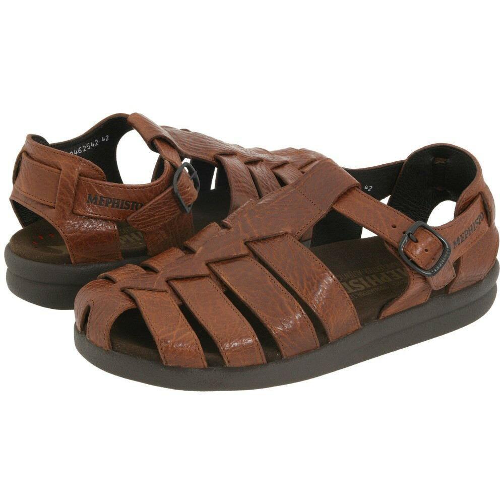 メフィスト メンズ シューズ?靴 サンダル【Sam】Tan Full Grain Leather