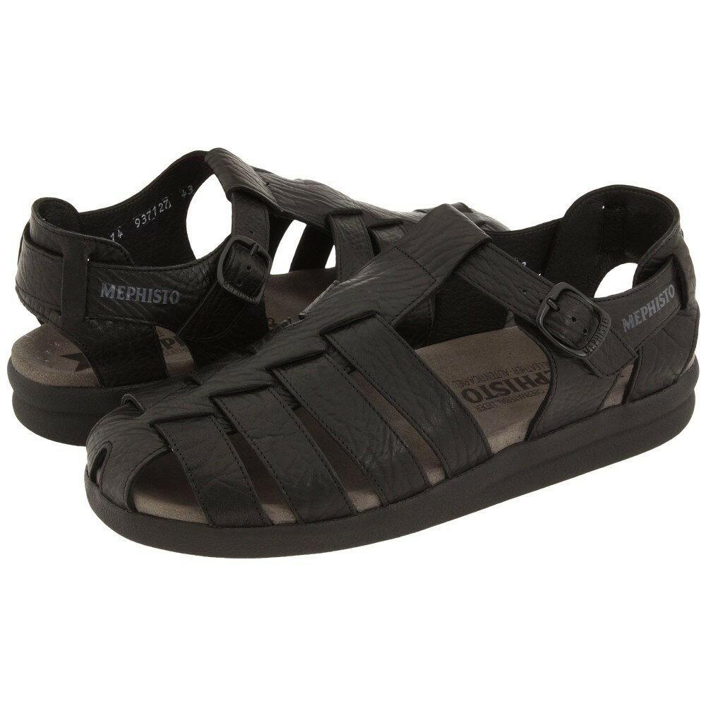 メフィスト メンズ シューズ?靴 サンダル【Sam】Black Full Grain Leather