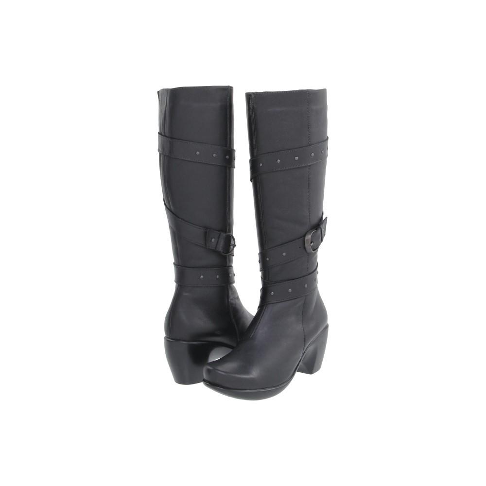 ナオトフットウェアー レディース シューズ・靴 ブーツ【Allure】Jet Black Leather