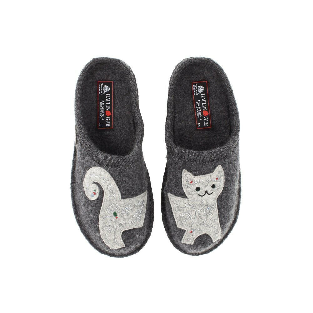 ハフリンガー レディース シューズ・靴 スリッパ【Lizzy】Grey