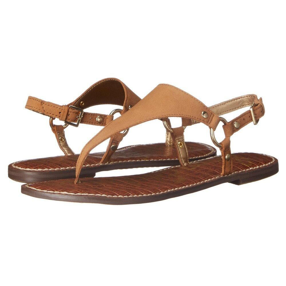 サム エデルマン レディース シューズ・靴 サンダル・ミュール【Greta】Golden Caramel Wayne Nubuck Leather