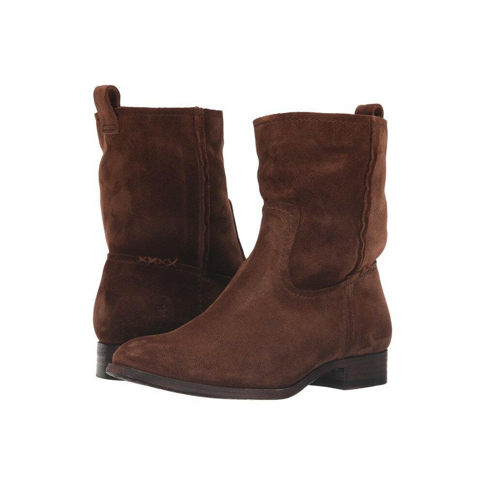 フライ レディース シューズ・靴 ブーツ【Cara Short】Wood Oiled Suede